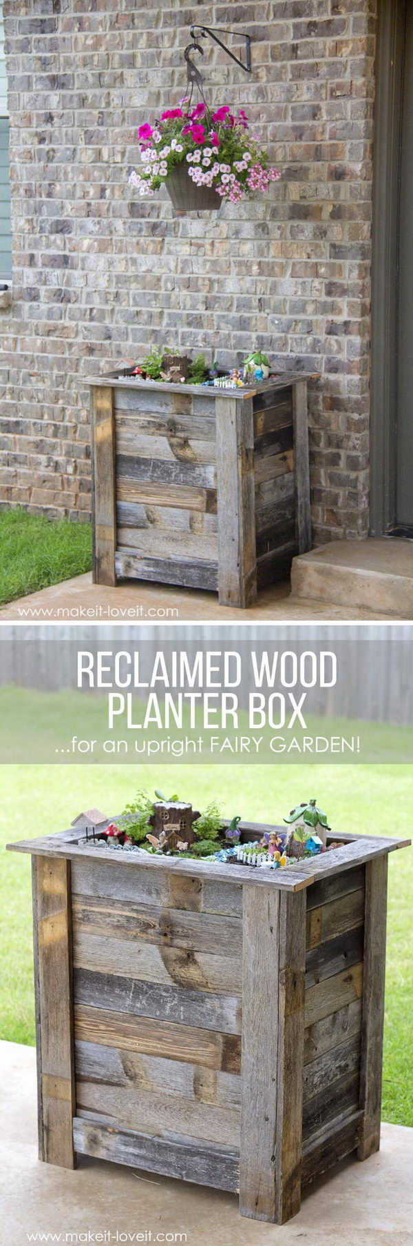 Creative Diy Wood And Pallet Planter