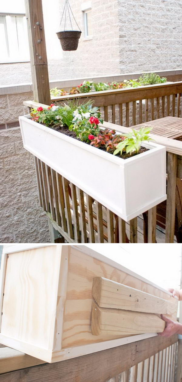 30 Creative Diy Wood And Pallet Planter Boxes To Style Up Your Home