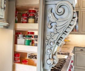 30 Cheap and Creative DIY Home Decor Projects Using Corbels