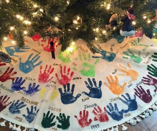 35 diy christmas tree skirt ideas hative
