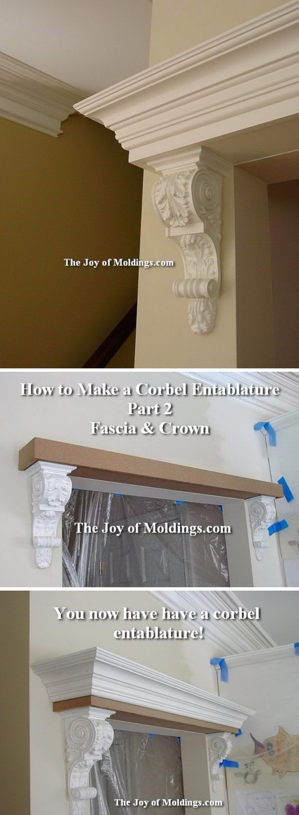 Upgrade Your Home with Architectural Corbels.