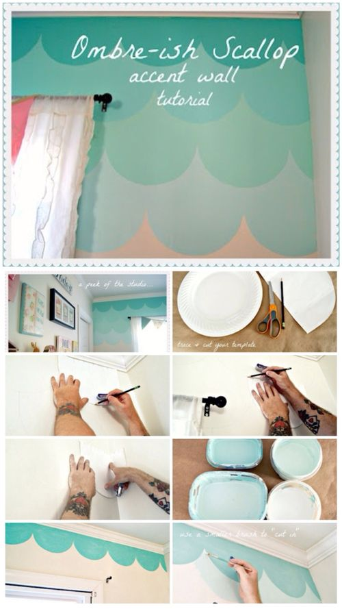 Teal Accent Wall Bedroom