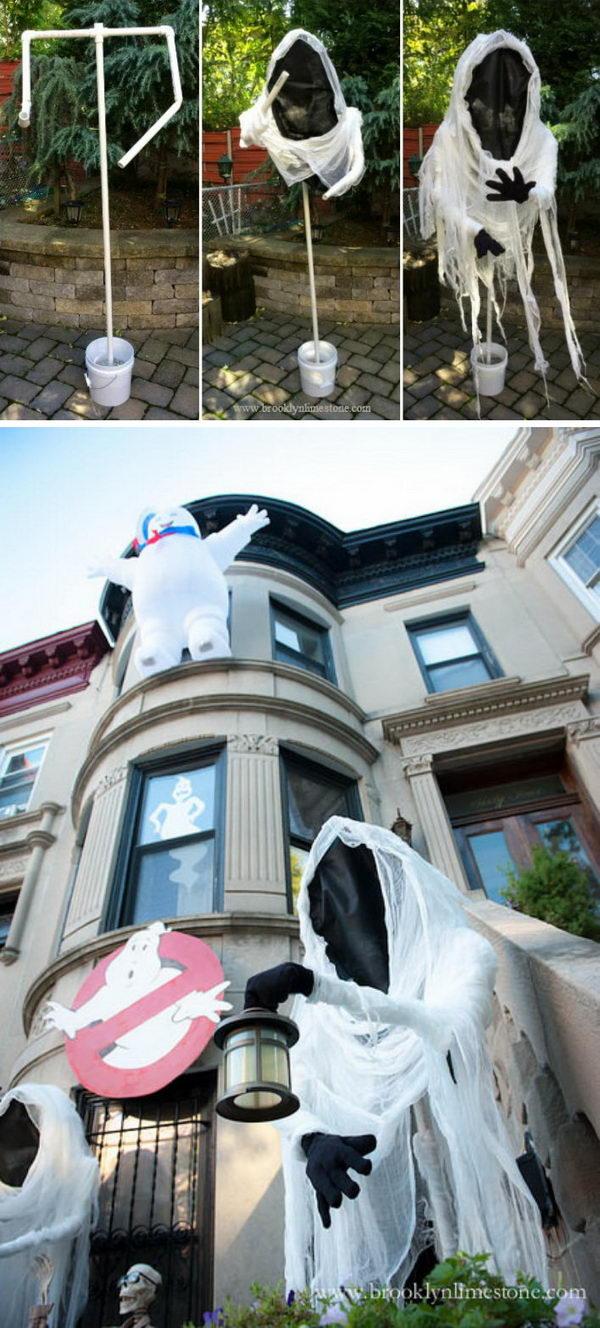 DIY Floating Specter Ghost.
