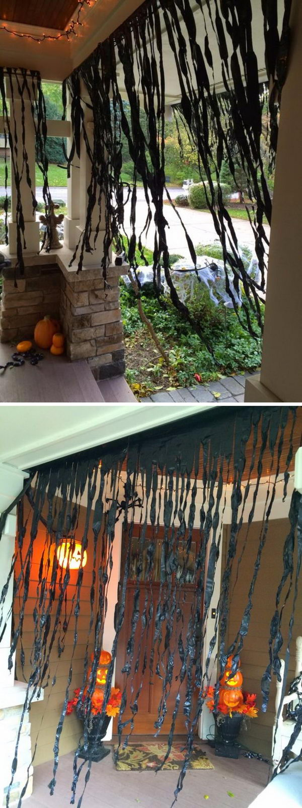 50 Halloween Front Porch Decorations Hative
