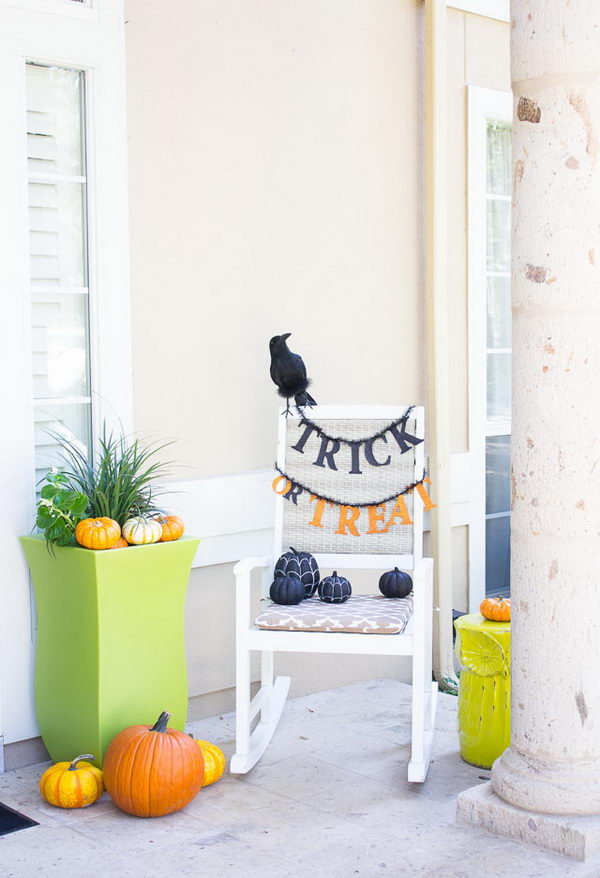 Trick or Treat Chair.