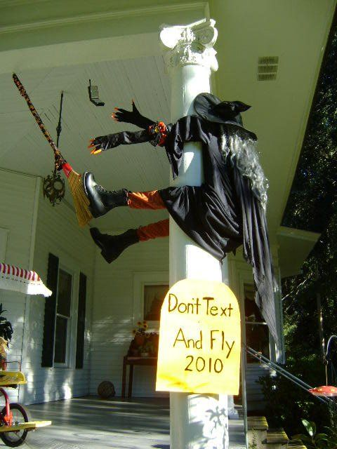 Halloween Safety Warning   Especially for Witches.
