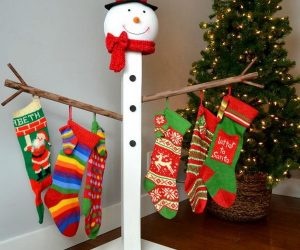 30+ DIY Stocking Holders For Christmas Decoration
