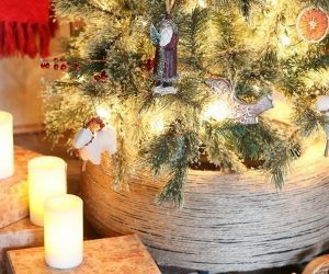 50 Beautiful Rustic Christmas Decorations