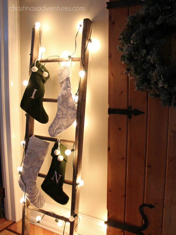 30 Diy Stocking Holders For Christmas Decoration Hative