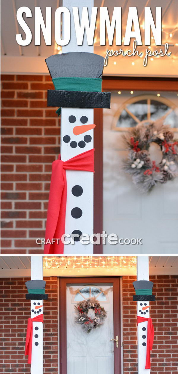 Snowman Porch Decorations.