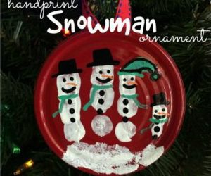 30+ Simple and Festive Mason Jar lid Ornaments for Christmas Decoration in 20 Minutes