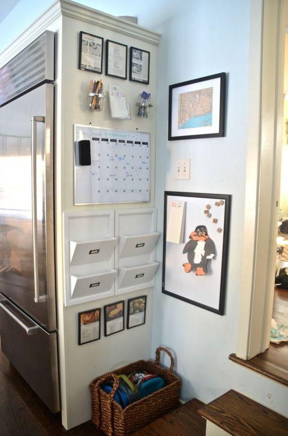 DIY Family Command Center.