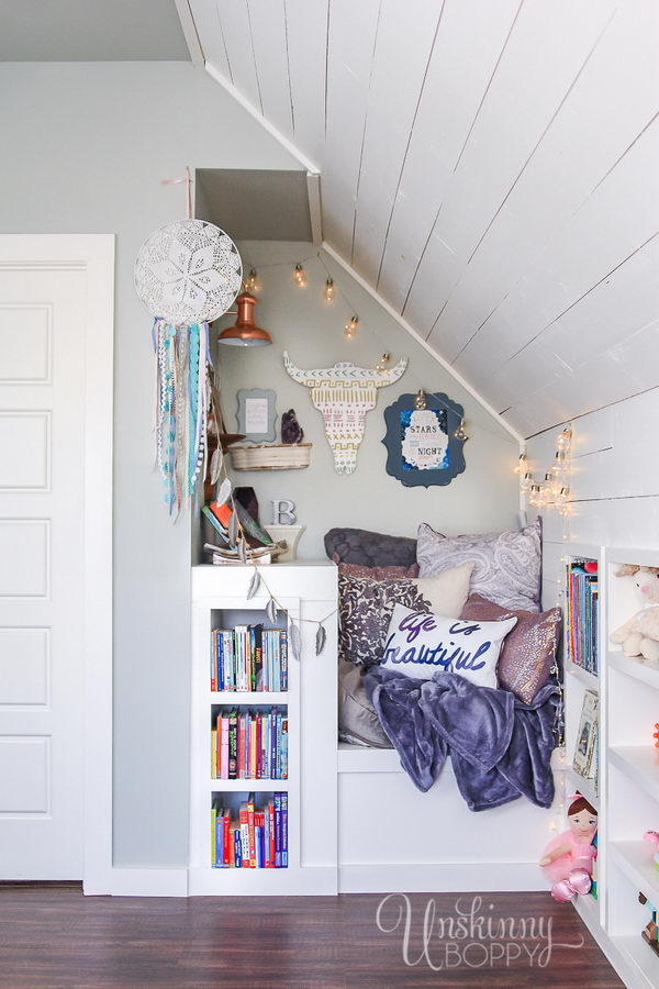 Attic Book Nook.