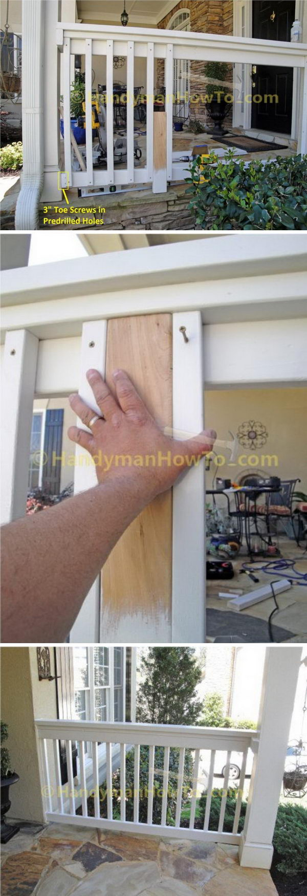 How to make a porch fence building balcony railing over flat roof build porch railing how to build porch railing 7 porch railings how solutioingenieria Gallery