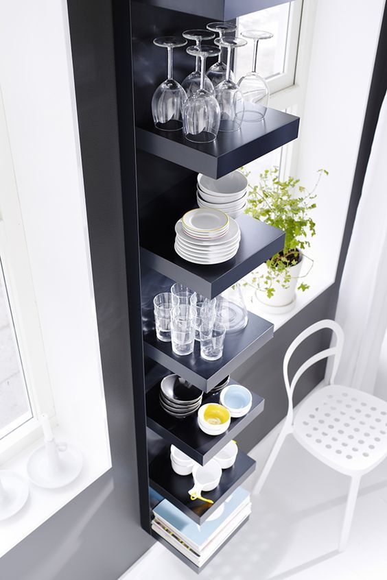 30 ways to hack ikea lack shelves hative - Lack ikea libreria ...