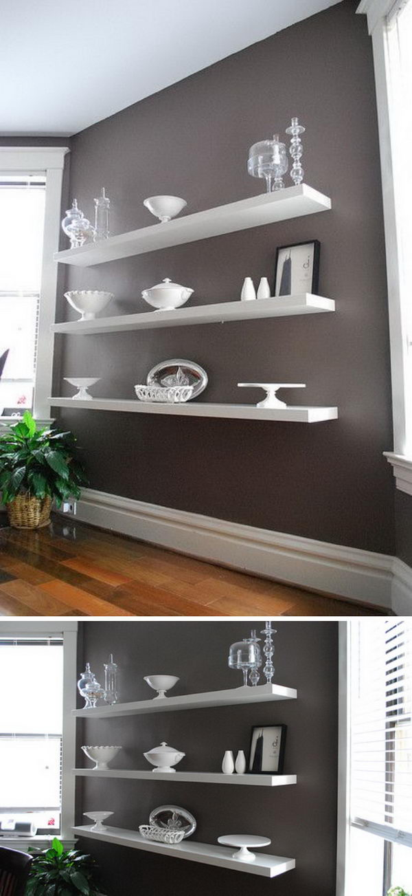 Superb 30 Ways To Hack Ikea Lack Shelves Hative Download Free Architecture Designs Intelgarnamadebymaigaardcom