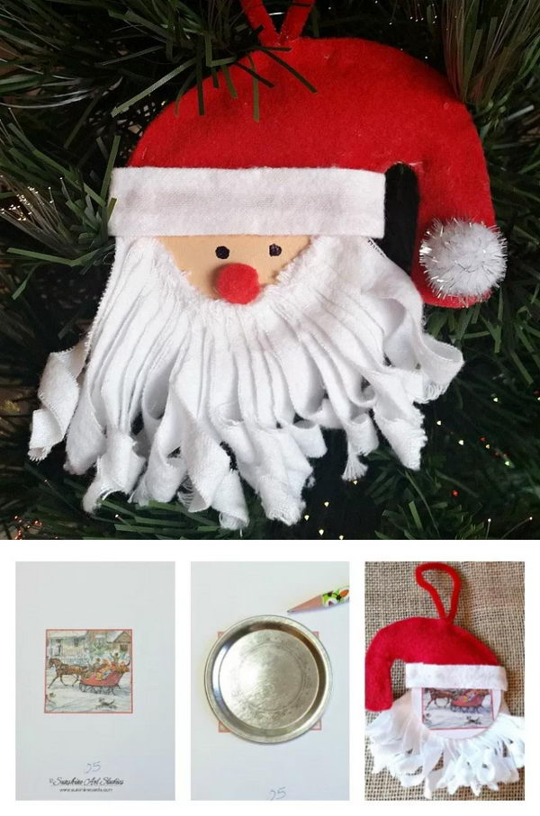 30  simple and festive mason jar lid ornaments for christmas decoration in 20 minutes