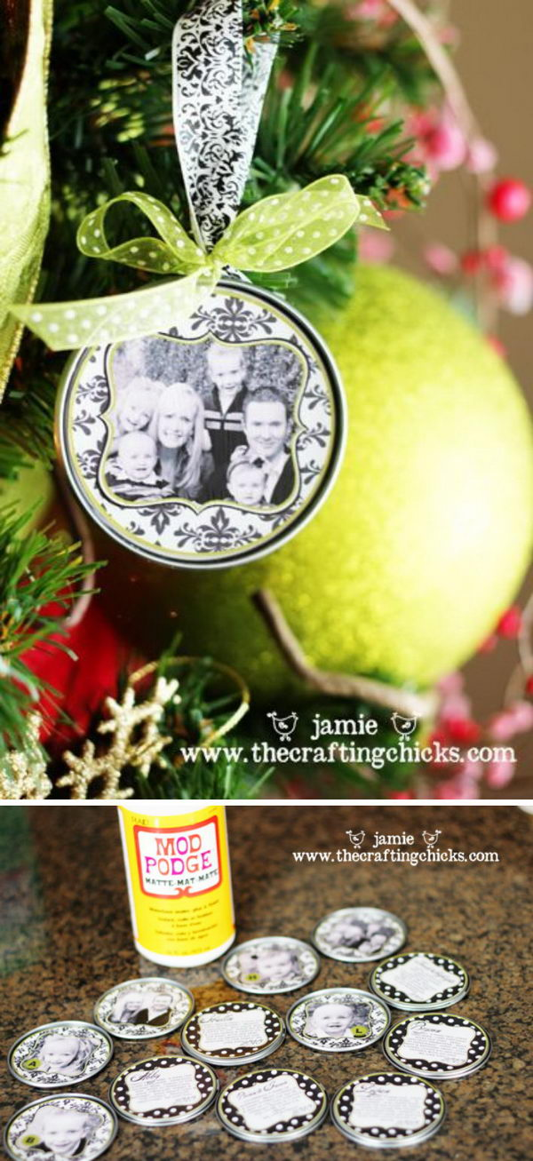 Family Christmas Ornament.