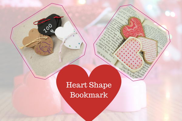 Heart Shape Bookmark