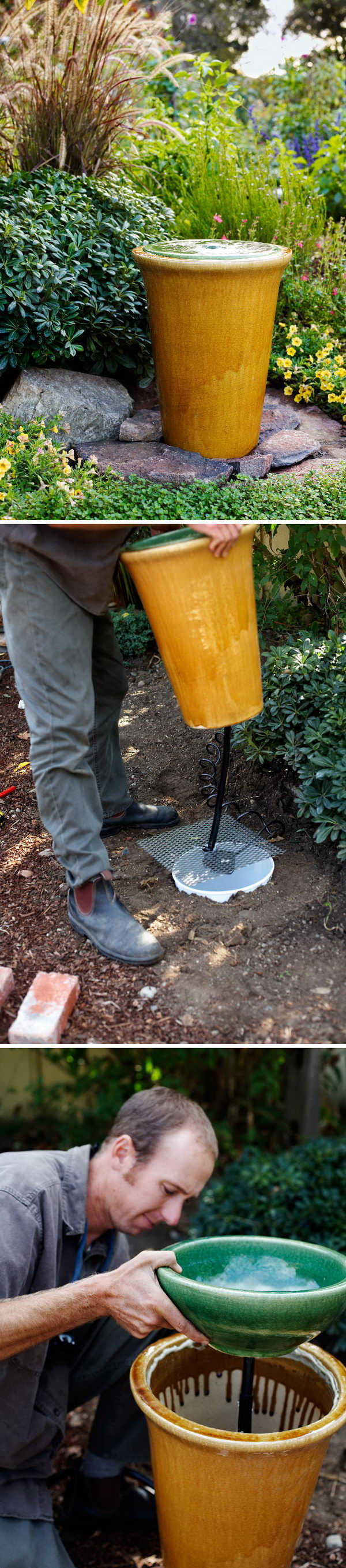 DIY Water Fountain.