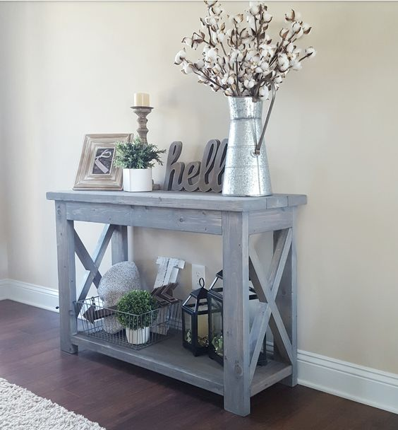 Gorgeous Entryway Table Ideas.
