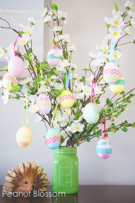 DIY Easter Egg Tree.