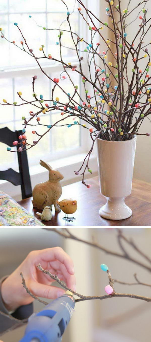 DIY Jelly Bean Tree.