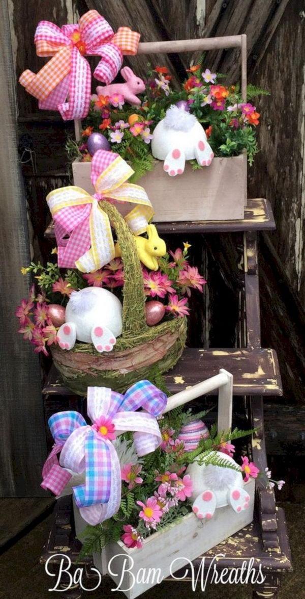 Garden Easter Floral Easter Arrangement.