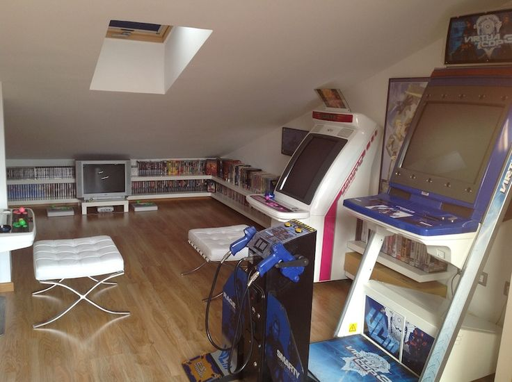Small Loft Games Room