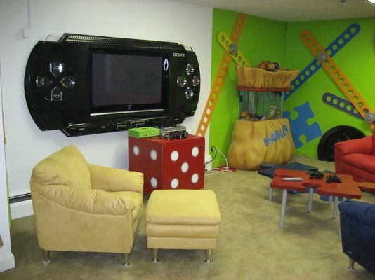 Themed Game Room.
