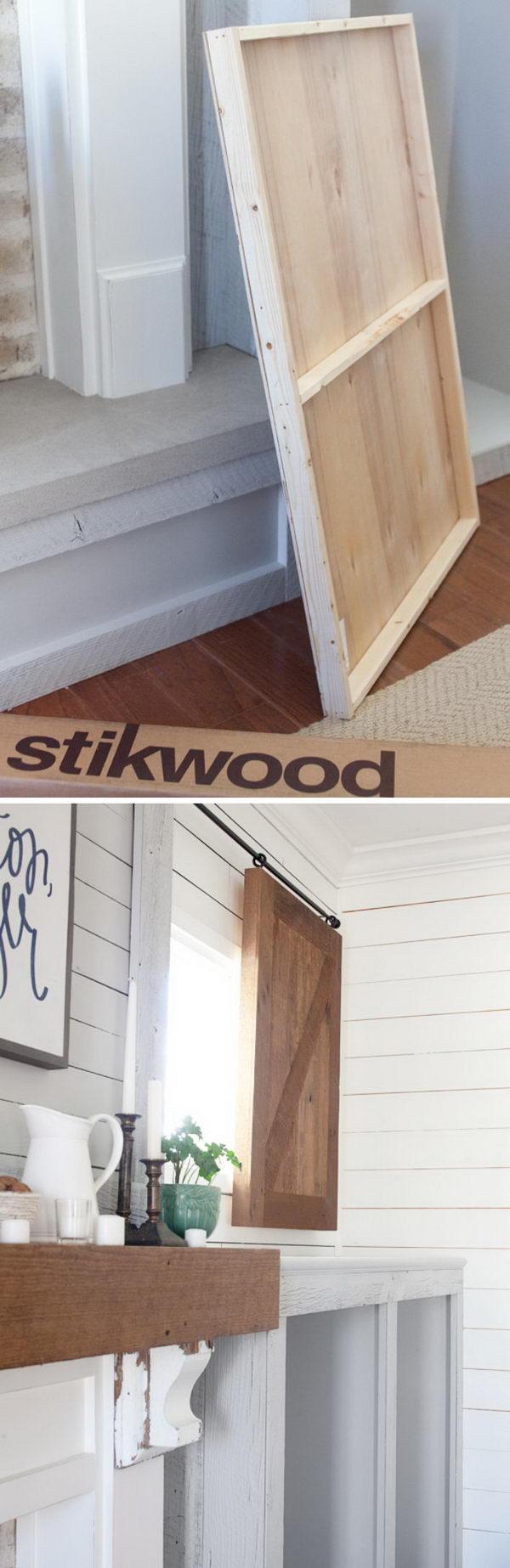 Barn Wood Valance