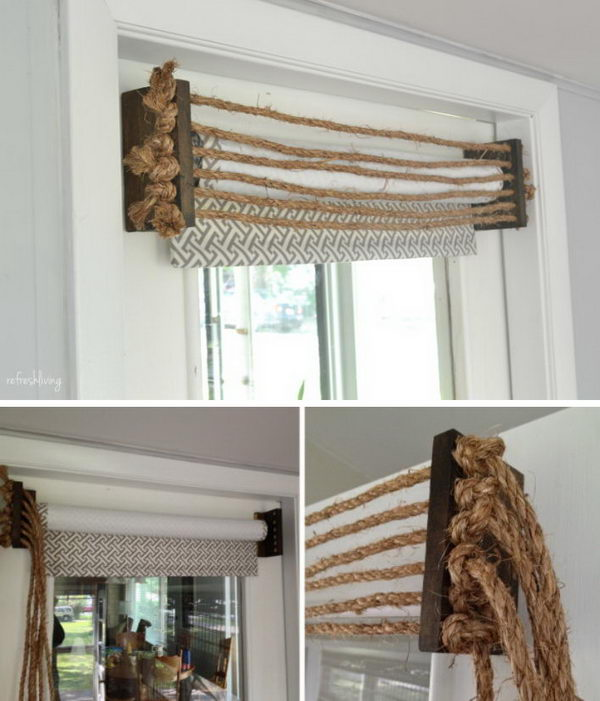 35 Awesome Diy Window Treatment Ideas And Tutorials Hative