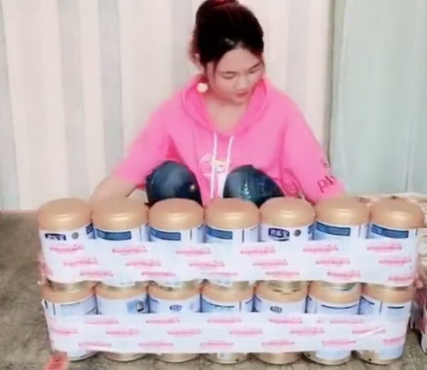 Easy DIY Bench Upcycled From Empty Milk Powder Cans